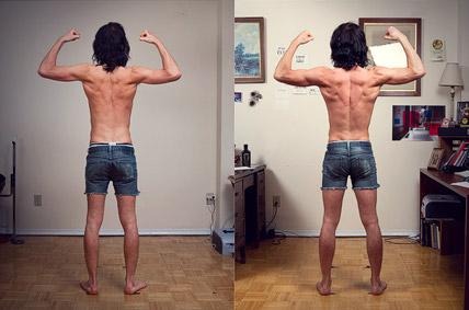 Shane Duquette Transformation after 4 months