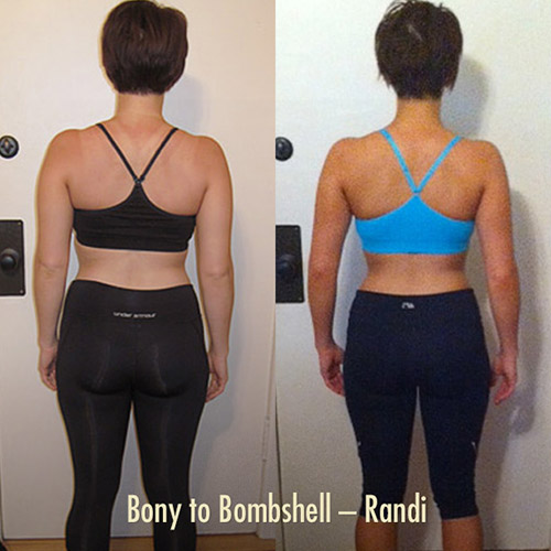 Bony to Bombshell Muscle-building / Weight Gain Program for Skinny Women—Randi