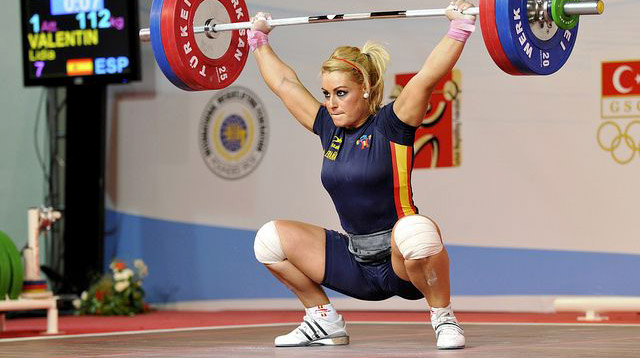 Female Olympic Weightlifter