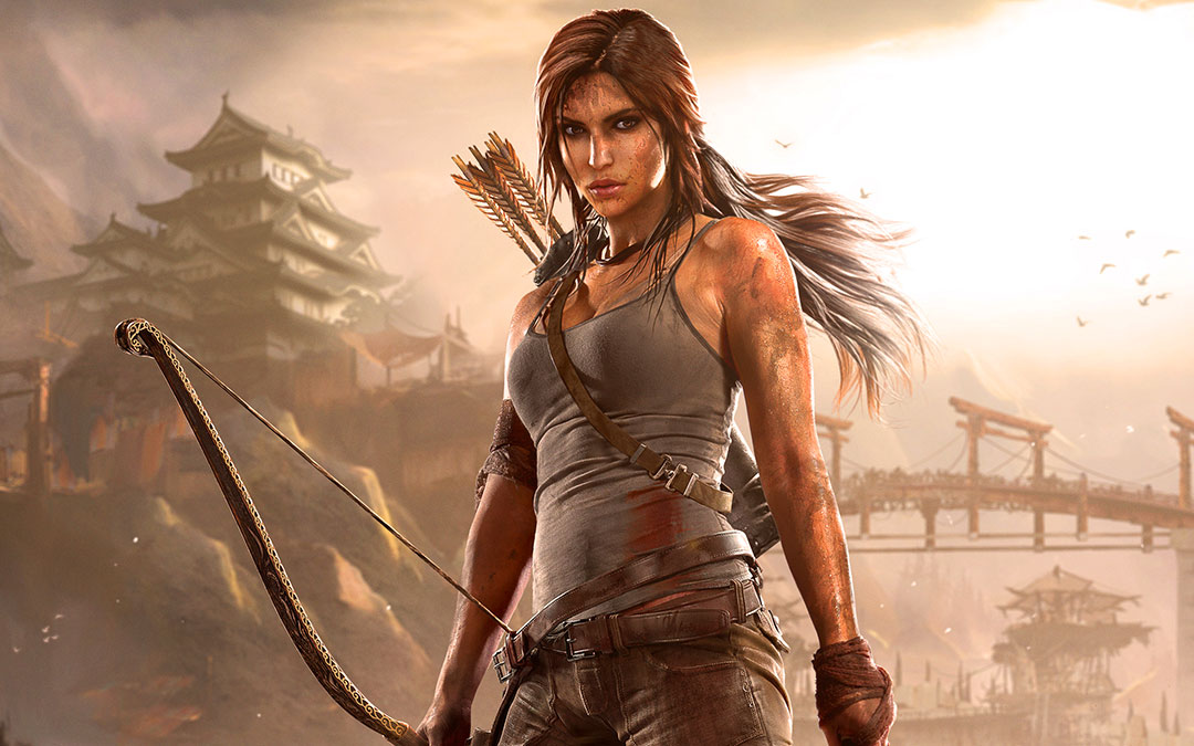 Lara Croft—The Ectomorph Action Hero