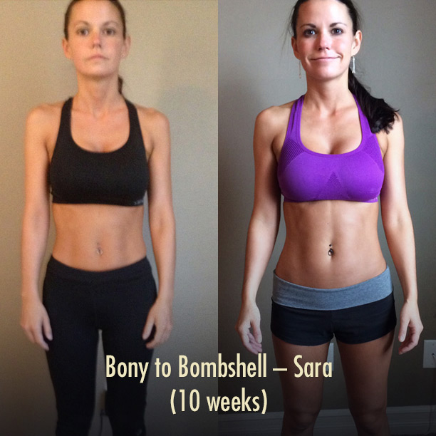 Sara's Bony to Bombshell Transformation