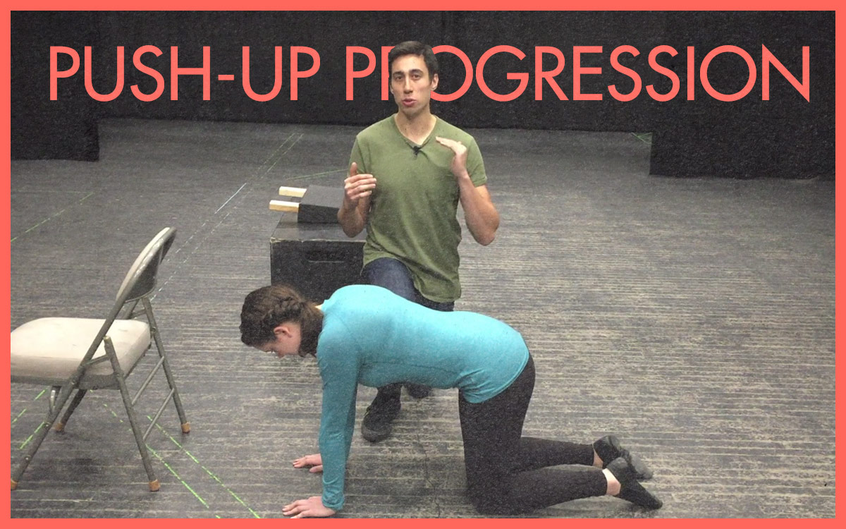 Get A Leg Up On Your Push-Up (With Video Tutorial)